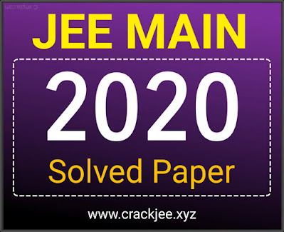 [PDF] Download JEE Main 2020 Solved Papers