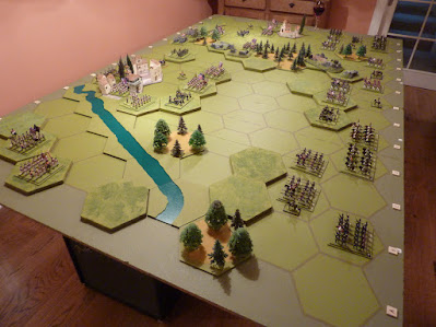 Vimeiro, from behind the French left flank