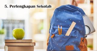 Perlengkapan Sekolah bisa menjadi hadiah menarik untuk anak-anak saat 17an