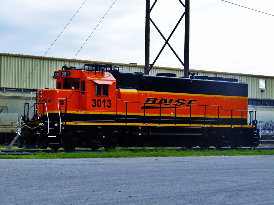 Industrial History: BNSF Color Schemes (Liveries) and