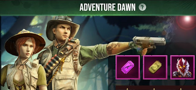 Event Terbaru Free Fire Januari 2020 Adventure Dawn