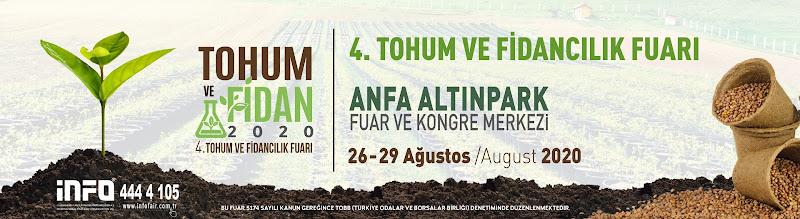 4.Tohum ve Fidancılık Fuarı26-29 Ağustos 2020