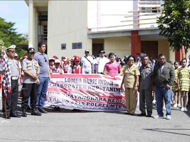 Lodevicus Tethool Harap Partisipasi Masyarakat Tanimbar Jelang HUT Bhayangkara ke 73 di Tanimbar