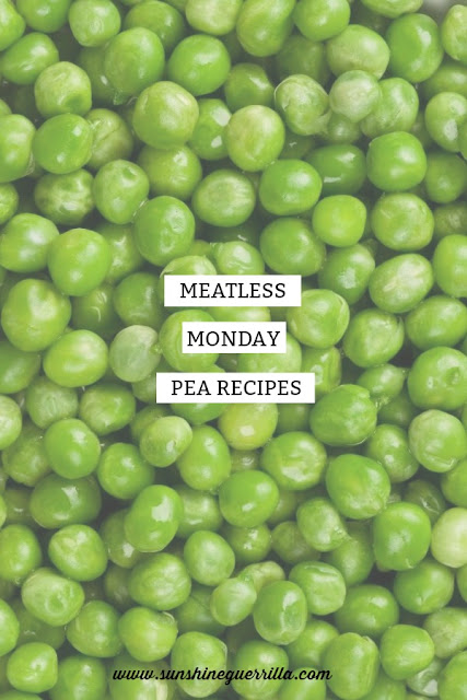 Meatless Monday Vegetarian and Vegan Peas Recipes