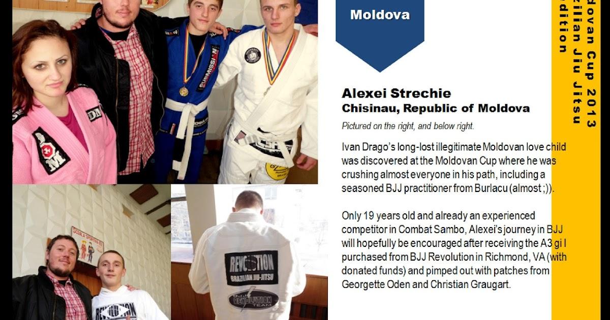 Georgette's Jiu Jitsu World: Moldova's first-ever BJJ