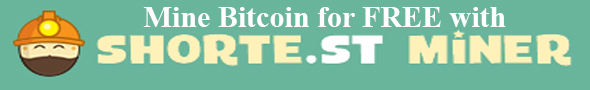 mine bitcoin for free with shorte.st miner