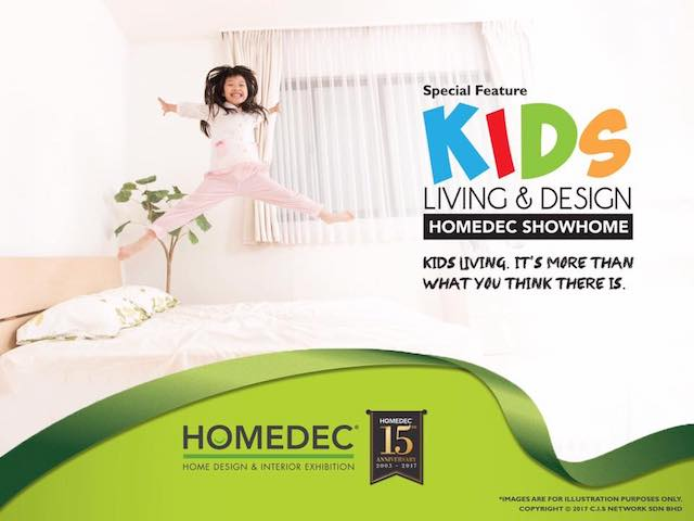 HOMEDEC's Kids Living & Design Showhome
