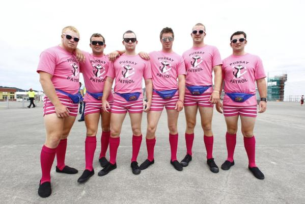 pussy patrol costumes rugby sevens