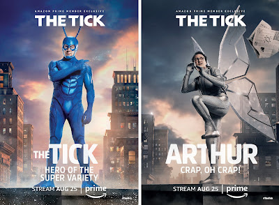 The Tick Television Series Character Poster Set