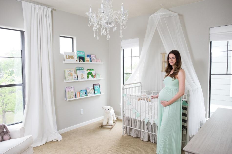Veronika's Blushing: Harper's Nursery Reveal