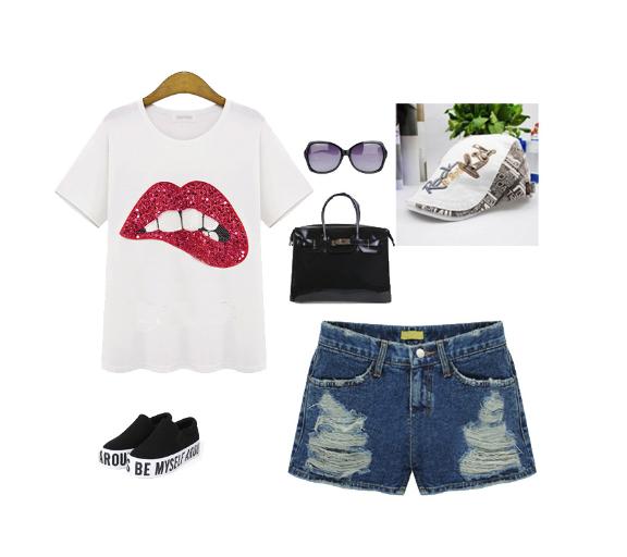 http://www.banggood.com/New-Fashion-Women-t-shirts-Lips-Handmade-Beads-Cotton-T-shirt-Short-Sleeve-t-shirt-p-991052.html?utm_source=sns&utm_medium=redid&utm_campaign=anouckinhascloset&utm_content=chelsea