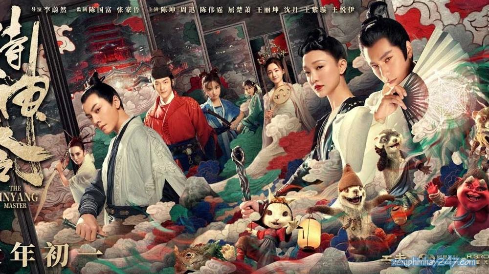 http://xemphimhay247.com - Xem phim hay 247 - Âm Dương Sư Thị Thần Lệnh (2021) - The Yin Yang Master (2021)
