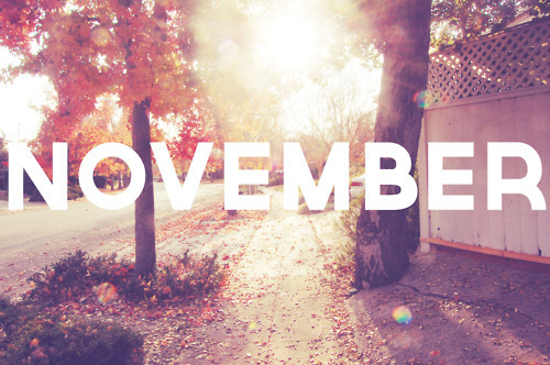 A Life without Anorexia: November