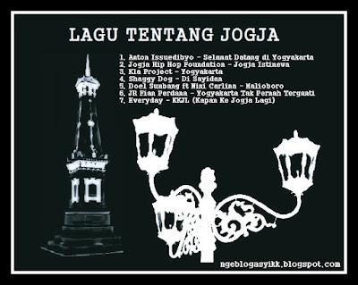 sampul cover kaset lagu musik tentang jogja