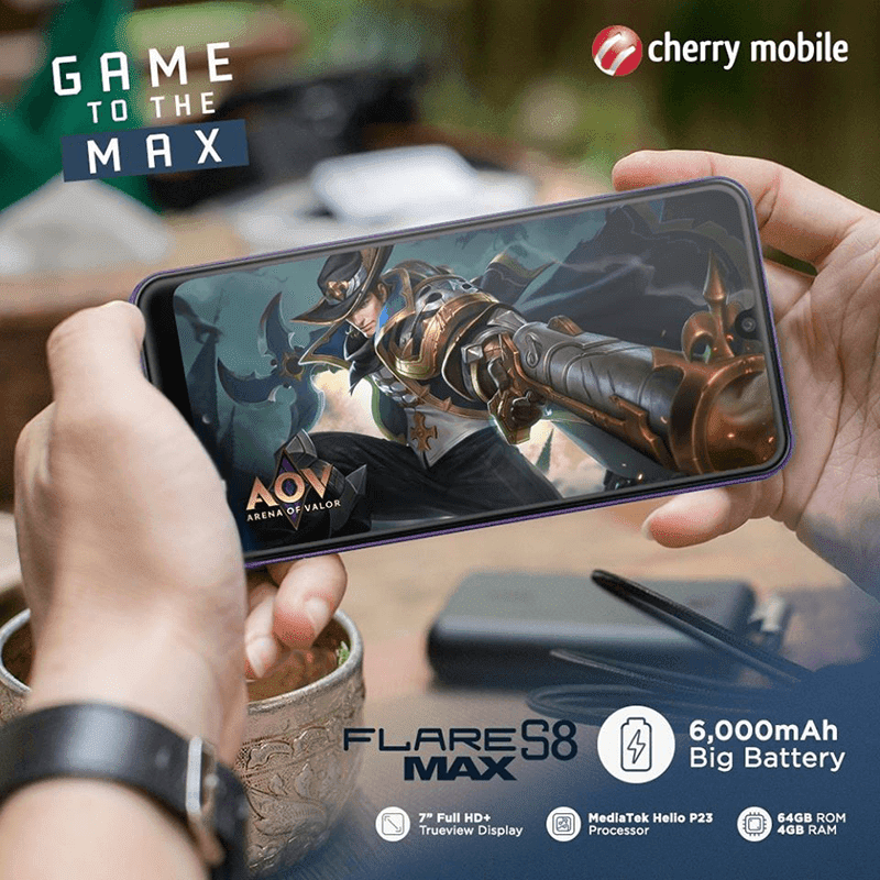Cherry Mobile's Flare S8 Max is a budget phone that can help you fight quarantine boredom