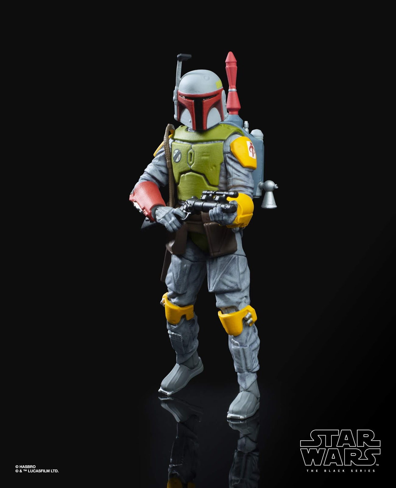 STAR WARS: THE BLACK SERIES 6-INCH BOBA FETT Figure