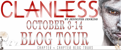 Clanless Blog Tour banner