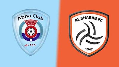 مشاهدة مباراة الشباب ضد أبها 12-08-2021 بث مباشر في الدوري السعودي