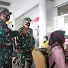 Persiapkan Kedatangan Panglima TNI dan Kapolri, Pangdam XIII Merdeka Tinjau Prokes Covid-19 di Bandara Sis Al- Jufri Palu