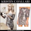 c276c523ede8 ... Kristin Cavallari in silver sequin mini dress on December 31 WHO: Kristin  Cavallari on December 31 2016 WHAT SHE WORE: Kristin wore silver sequin off  ...