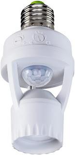 Sensor de Presença para Iluminação com Soquete Intelbras ESP 360 S