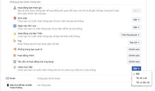 Cách tắt thông báo Live Stream trên Facebook Blog Cr- Thắng