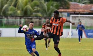 Persib Bandung Kalah 1-2 di Kandang Perseru Serui - Liga 1 Sabtu 29/7/2017