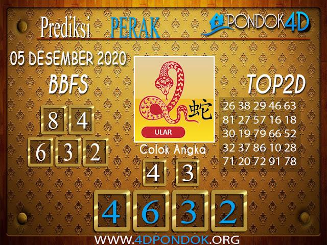 Prediksi Togel PERAK PONDOK4D 05 DESEMBER 2020
