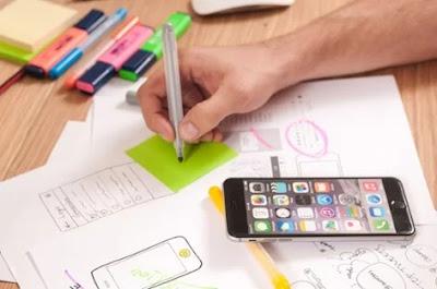 tener en cuenta el diseño de la aplicacion hacer un borrador