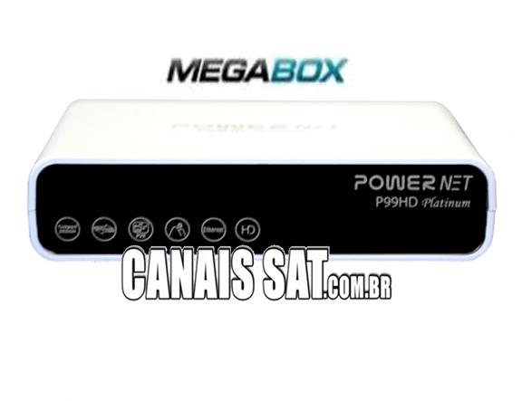 Megabox PowerNet P99 HD Platinum Nova Atualização V1.11 - 16/06/2020