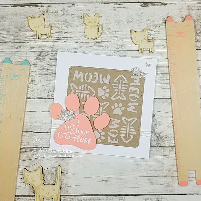 Newton's Nook Designs Cat-itude Set - Naki Rager