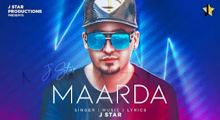 मारदा Maarda Lyrics in Hindi - J Star