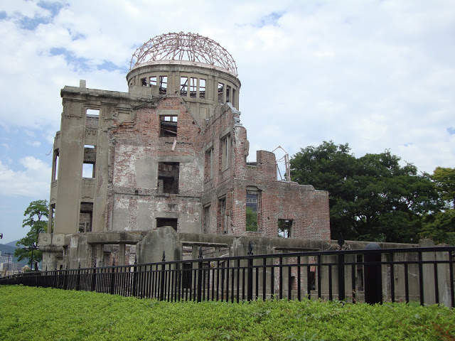 le macerie del duomo di Hiroshima