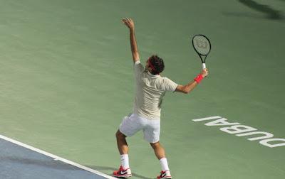 بطل التنس العالمي روجر فيدرر