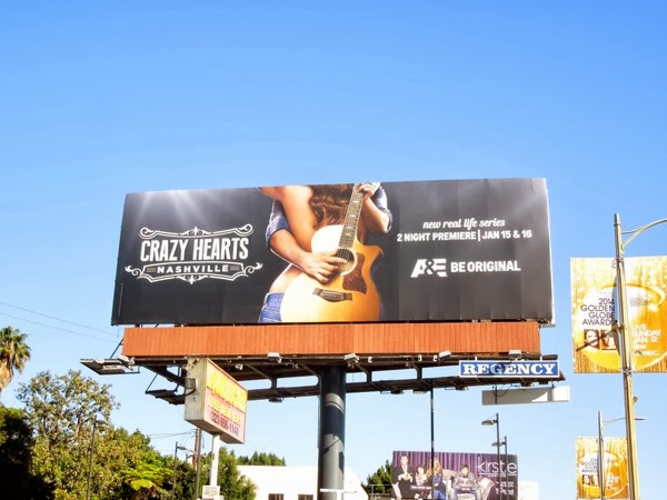 Crazy Hearts Nashville billboard