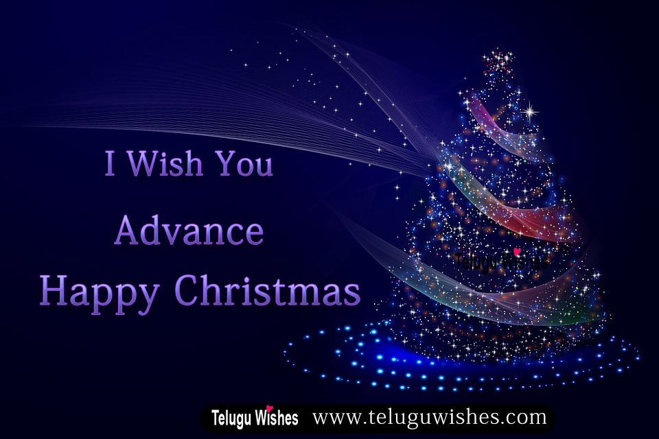 Advance Christmas wishes images
