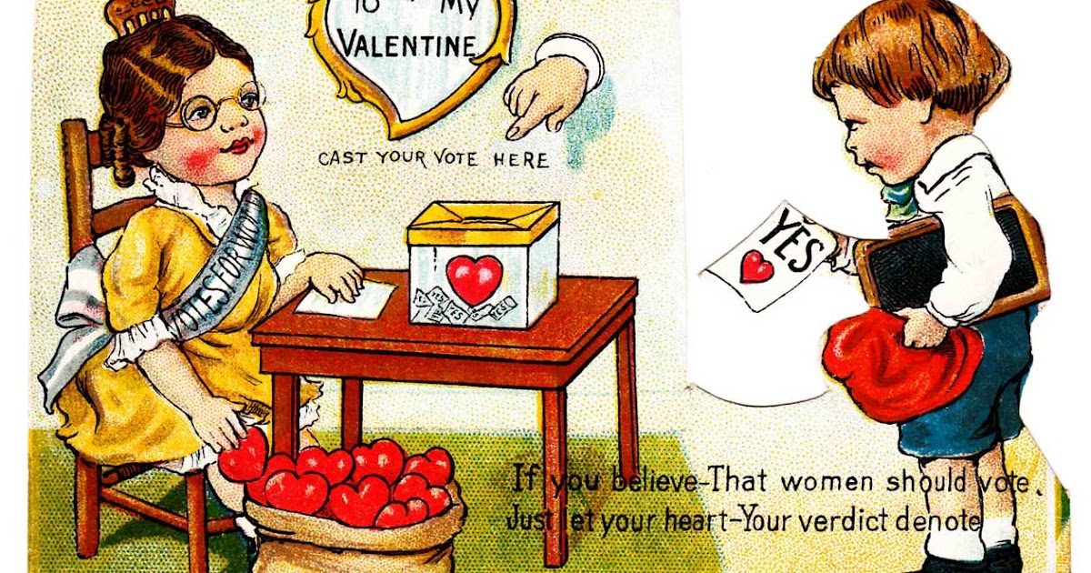 From Women's Suffrage to the Great Depression, 12 Wonderfully Weird Valentine's Day Cards From the Early 20th Century