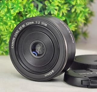 Jual Lensa Canon EF-M 22mm f2 STM