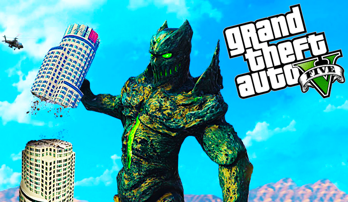 GTA 5 Mod - The Gate Monster Download Now