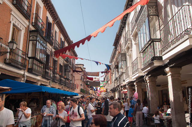 Calle Mayor Alcala Henares Mercado Medieval