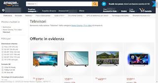Televisori Amazon