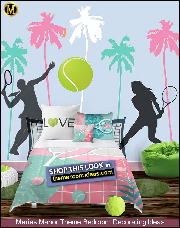 tennis bedroom decorating ideas tennis bedding tennis wall decals tennis bedroom decor