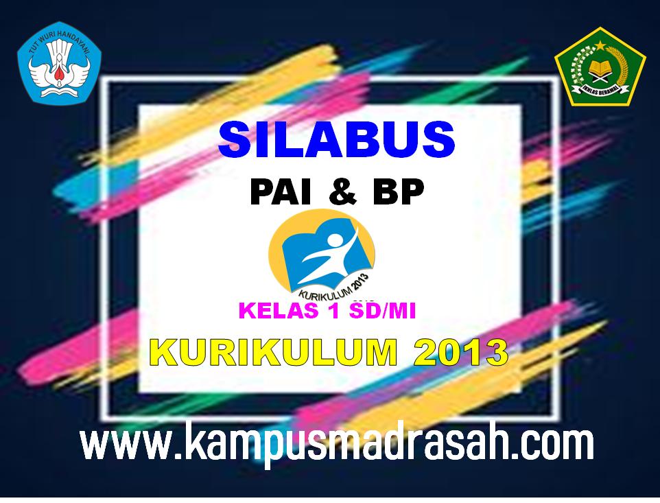 Silabus PAI Dan BP Kelas 1 SD/MI