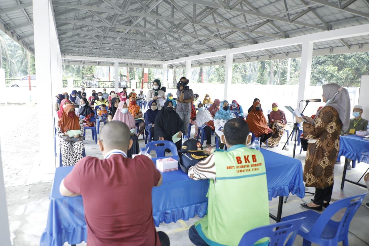 Satgas BKB Provsu Bersama Dinkes Kabupaten Asahan Gelar Pelayanan Kesehatan Bakti Sosial  Operasi