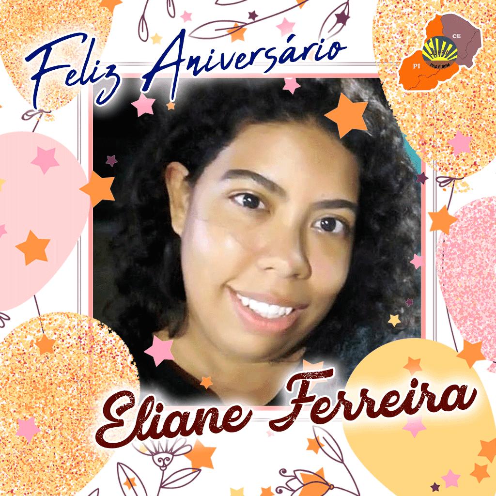 Feliz Aniversário Eliane Ferreira