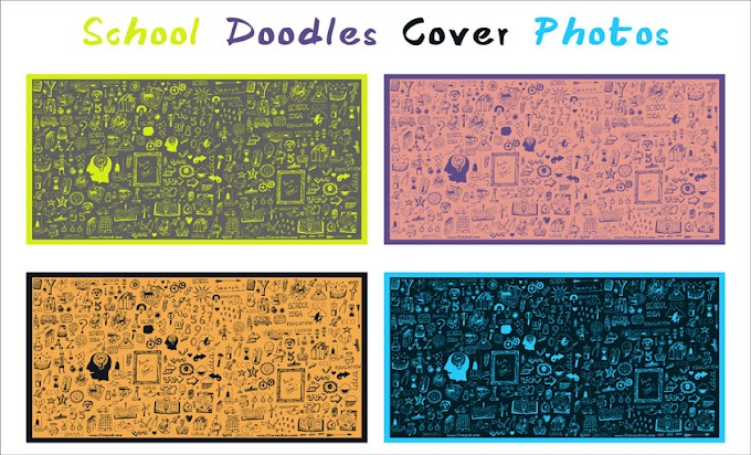 School Doodles Cover Photos