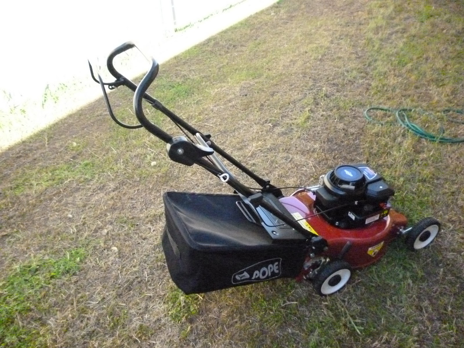 Briggs And Stratton Mower : Technology old and new pope pm lawn mower