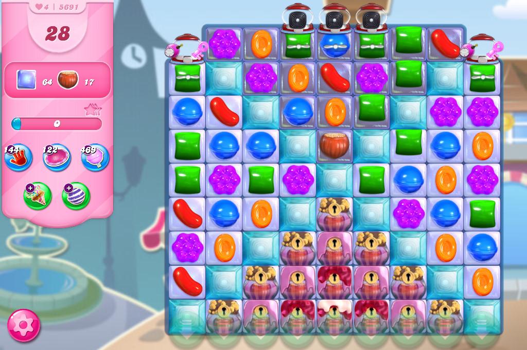 Candy Crush Saga level 5691
