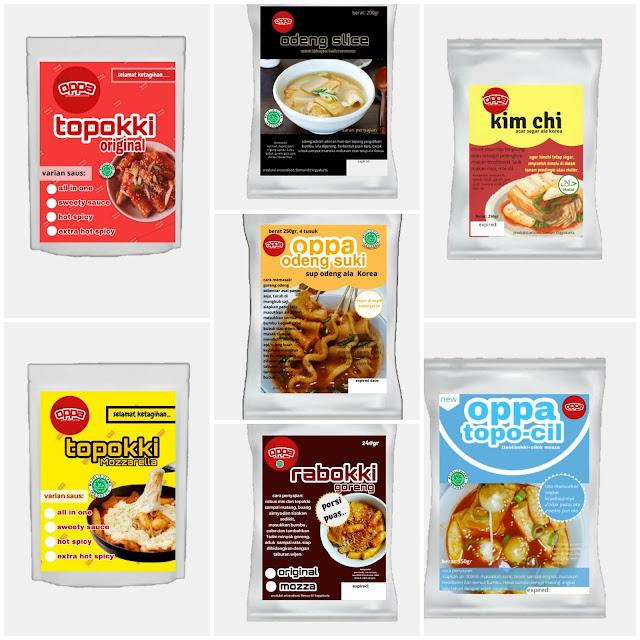 Aneka produk Oppa