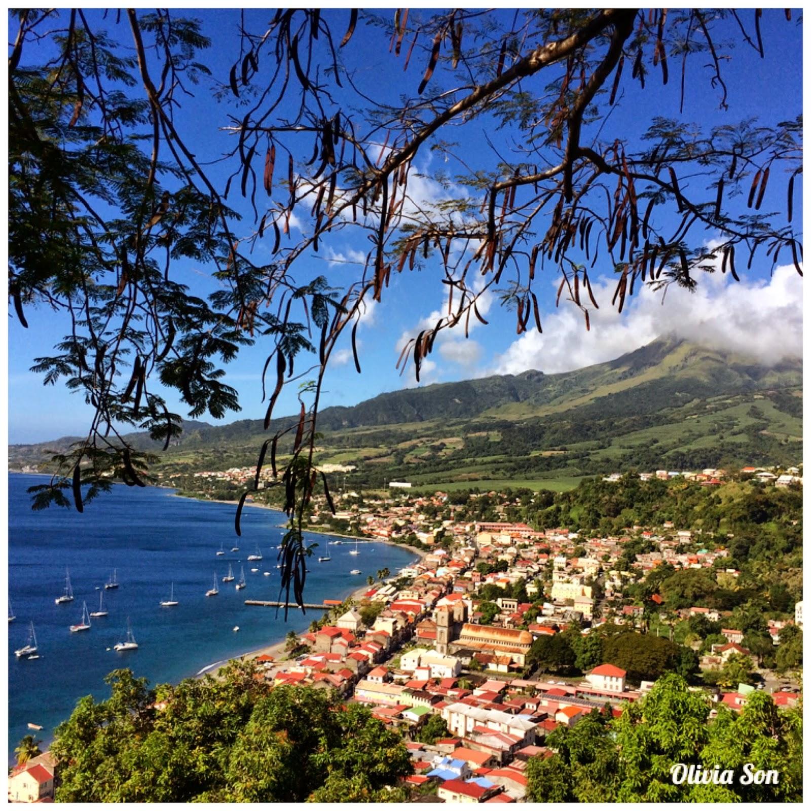 Saint Pierre Martinique Montagne Pelée